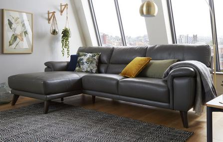Leather Corner Sofas That Combine Quality & Value | DFS